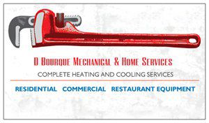 D Bourque Mechanical & Home Services